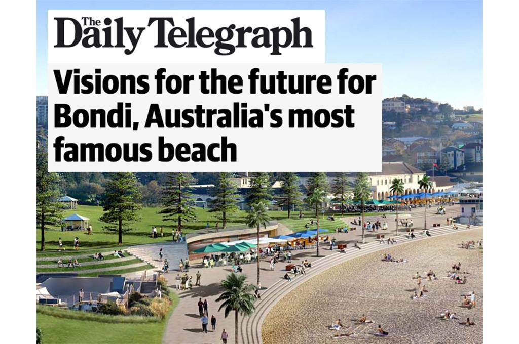 Daily Telegraph - Vision for Bondi