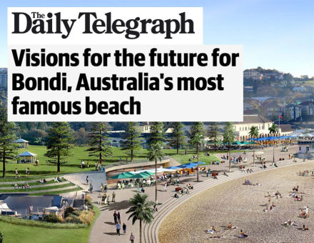 Daily Telegraph - Vision for Bondi